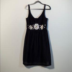 Nine West embellished babydoll dress